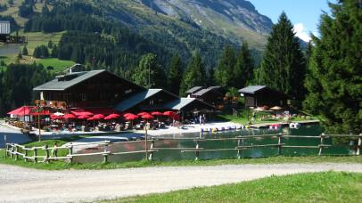 Lac de l'Etape in Les Contamines-Montjoie © montblancfamilyfun.com