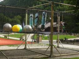 Le Parc Patrice Dominguez in Les Contamines © montblancfamilyfun