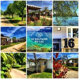 Camping Le Solitaire du Lac (Saint-Jorioz) © Camping Le Solitaire du Lac