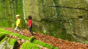 La Pesse boulders © montblancfamilyfun.com