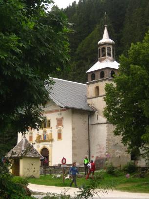 Chapelle de Notre-Dame-de-la-Gorge © montblancfamilyfun.com