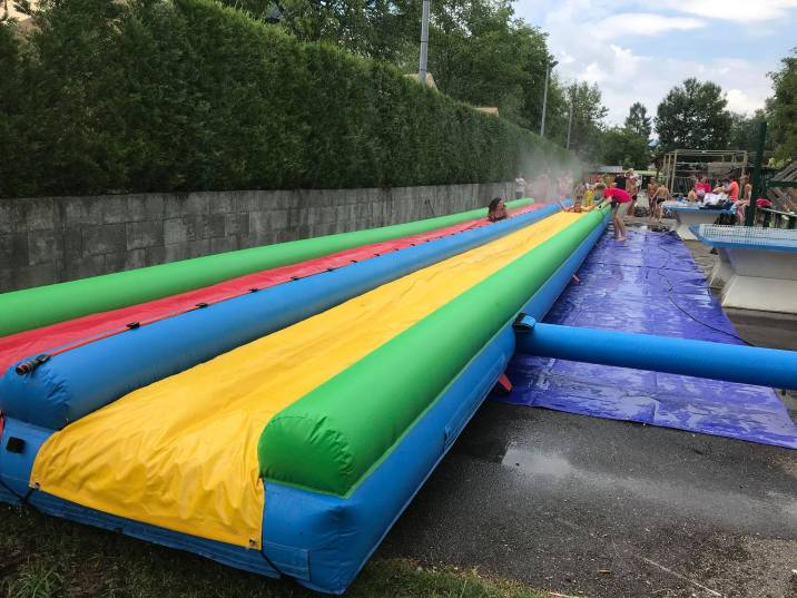 Ventrigliss at Camping Les Fontaines © Camping Les Fontaines
