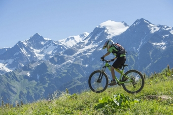 Les Clarines bike park © Les Contamines-Montjoie