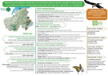 Réserves Naturelles Haute-Savoie © CEN Haute-Savoie