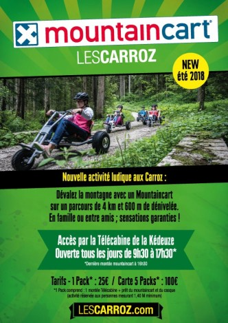 Mountaincart © Les Carroz Tourisme