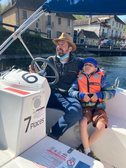 Boat trip along Canal de Savière to Lac du Bourget Lac du Bourget © montblancfamilyfun.com
