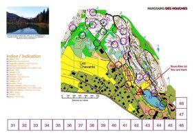 Parcours Orientation Lac des Chavants © Chamonix Valley Tourisme