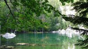 Le Lac Vert in late summer © montblancfamilyfun.com
