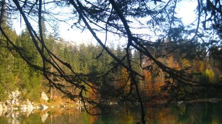 Le Lac Vert in autumn glory © montblancfamilyfun.com