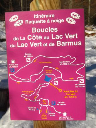 Boucle du Lac Vert © montblancfamilyfun.com