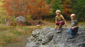 Lac Vert in autumn glory © montblancfamilyfun.com