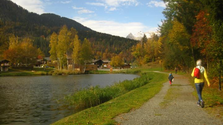 Lac des Chavants orienteering parcours