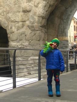 Aosta Roman ruins © montblancfamilyfun.com