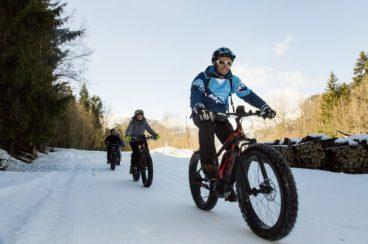 Fat biking © Passy Tourisme