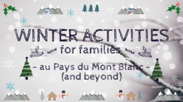 WINTER ACTIVITIES © montblancfamilyfun.com