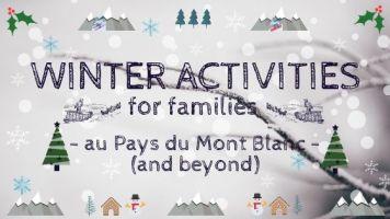 WINTER ACTIVITIES © montblancfamilyfun.com