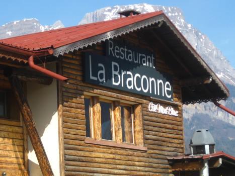 La Braconne restaurant, Sallanches © montblancfamilyfun.com