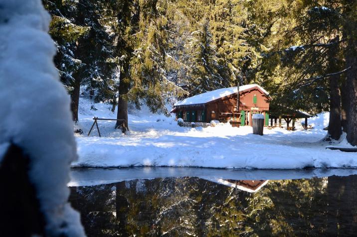 Le Paradis des Praz in the snow© Le Paradis des Praz