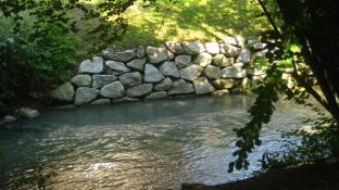 Bialle river path Sallanches © montblancfamilyfun.com