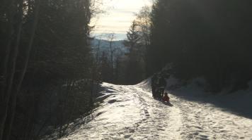 Plaine-Joux sledge walk © motblancfamilyfun.com