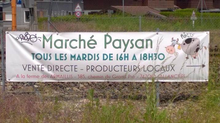 Marché Paysan © montblancfamilyfun.com