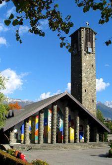 Notre Dame de Toute Grace at Plateau d'Assy © montblancfamilyfun.com