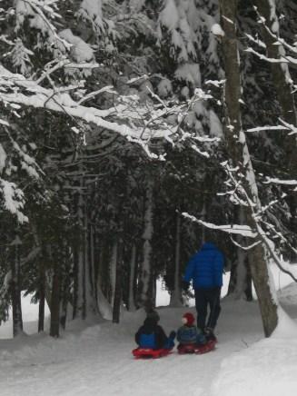 Domaine Nordique, Les Contamines-Montjoie © montblancfamilyfun.com
