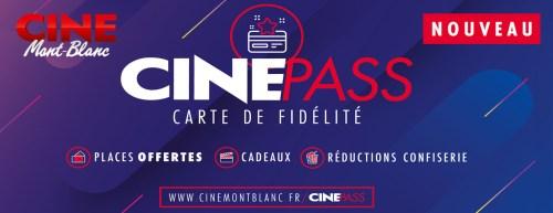 Cinépass © Ciné Mont-Blanc