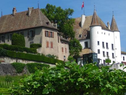 Nyon castle © montblancfamilyfun.com