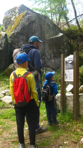 Le Sentier des Graniteurs (Combloux) © montblancfamilyfun.com