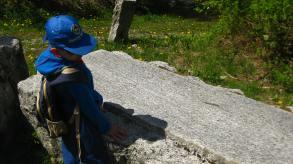 « Sur les traces des Graniteurs » in Combloux © montblancfamilyfun.com