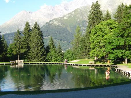 Lac de l'Étape, Les Contamines-Montjoie © montblancfamilyfun.com