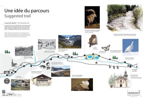Le Sentier Découverte © Les Contamines-Mont-joie Tourisme