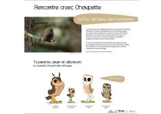 Le Sentier Découverte - Choupette la Chouette © Les Contamines-Mont-joie Tourisme