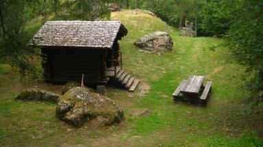 Les Gorges Mystérieuses de la Tête-Noire - information hut © montblancfamilyfun.com
