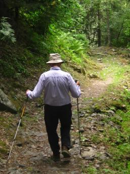 Les Gorges Mystérieuses de la Tête-Noire - descent © montblancfamilyfun.com