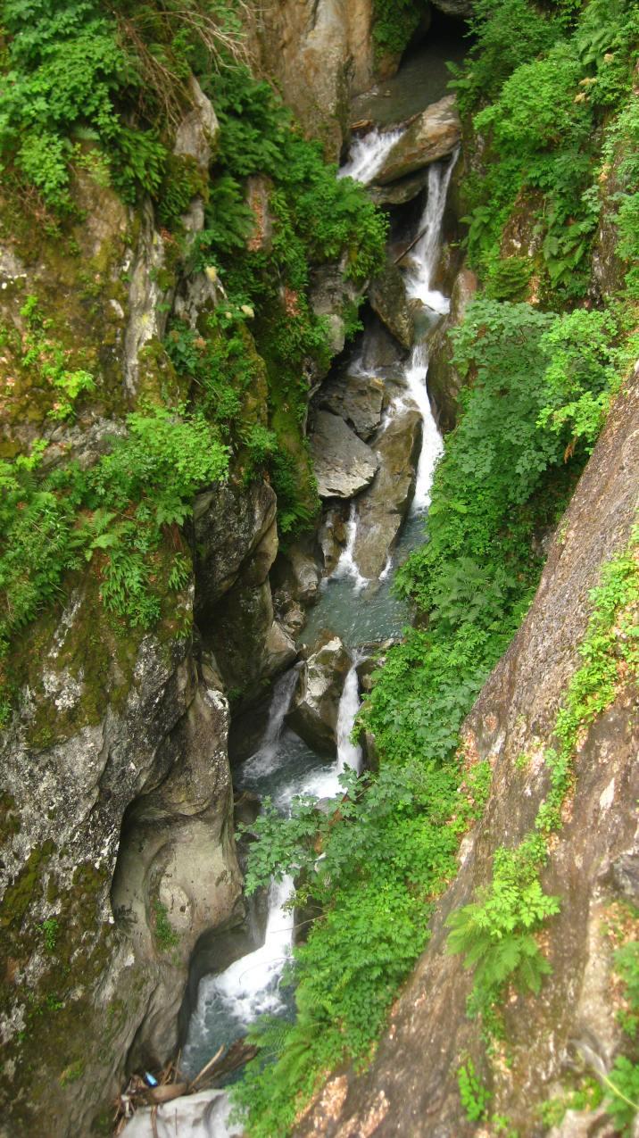 Les Gorges Mystérieuses de la Tête-Noire © montblancfamilyfun.com