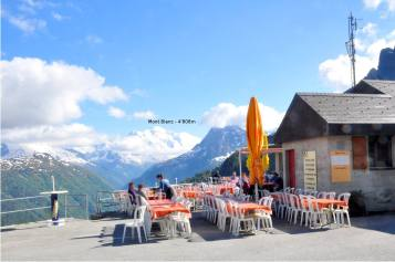 © Restaurant Barrage d'Emosson