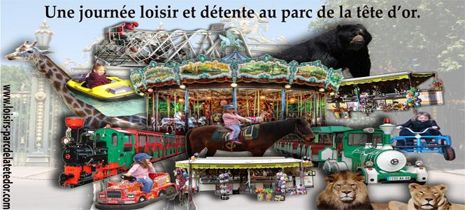 © Parc de la Tête d'Or Lyon