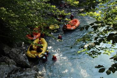Les Gorges du Giffre © montblancfamilyfun.com