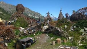 Village des Branches (erticAlp) © montblancfamilyfun.com