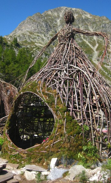 Village des Branchés (VerticAlp Emosson) © montblancfamilyfun.com