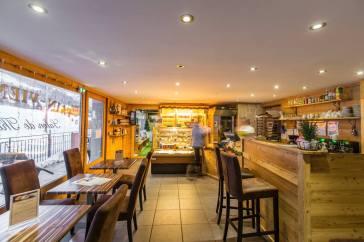 Résidence & Spa Vallorcine - Tea Room & l'Etable © Résidence & Spa Vallorcine