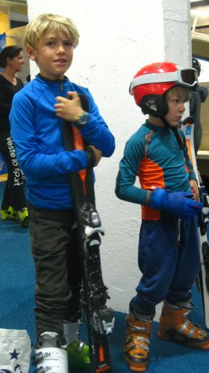 Ski Indoor 4810 - ready to go! © montblancfamilyfun.com