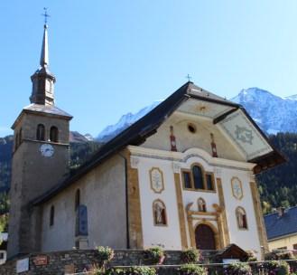L'église baroque Les Contamines-Montjoie © montblancfamilyfun.com