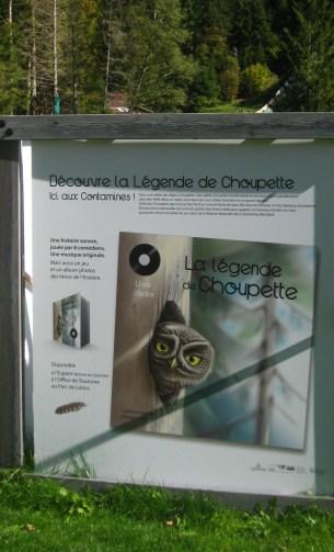 Sentier de Découverte - Choupette la Chouette (Les Contamines-Montjoie) © montblancfamilyfun.com