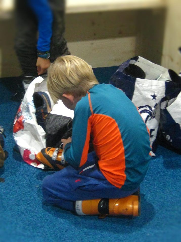 Ski Indoor 4810 - getting ready © montblancfamilyfun.com