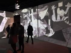 Imagine Picasso (Guernica) at La Sucrière © montblancfamilyfun.com