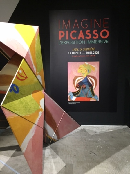 Imagine Picasso at La Sucrière © montblancfamilyfun .com