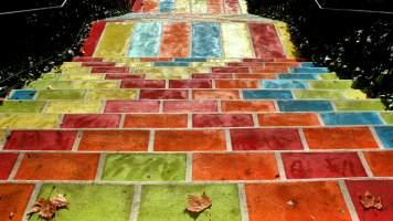 L'Escalier Prunelle (Croix-Rousse)© Tiens, Voilà des photos - Overblog